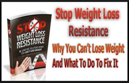 weight loss resistance book